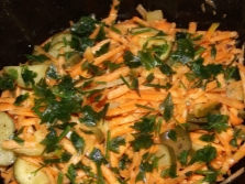 Салат с асафетидой