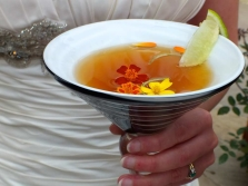 Салат из бархатцев