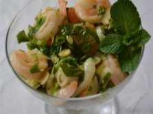 Салат с цитронеллой