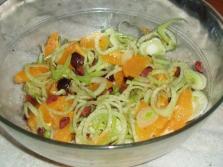 Салат с луковицей фенхеля