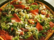 Пицца с майораном