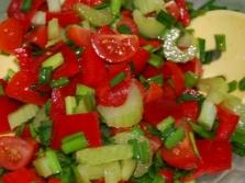 Овощные салаты с сельдереем