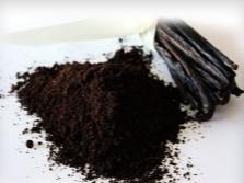 Порошок и стручки ванили