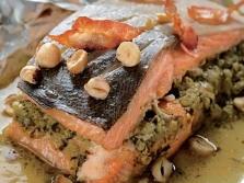 Рыба с фундуком