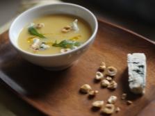 Суп с фундуком