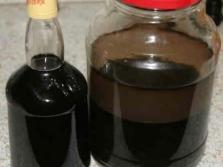 Настойка с орехами кедровой сосны