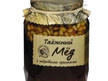 Мед с кедровыми орехами