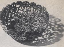 Декоративные предметы из скорлупы маньчжурского ореха