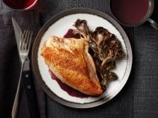 Мейтаке к мясным блюдам