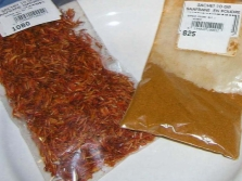 Упаковка шафрана