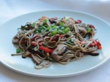 Вторые блюда с грибами  шиитаке