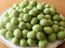 Зеленые грецкие орехи для настойки тодикамп
