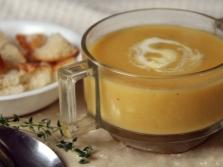 Суп-пюре с миндальной мукой