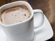 Кофе, какао с миндальным молочком