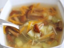 Супы из опят
