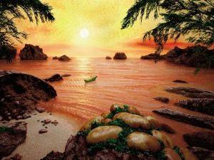 Картины из еды – съедобные пейзажи Карла Уорнера