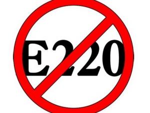 Опасен ли консервант Е220 в сухофруктах для здоровья?