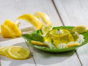Как приготовить лимонное желе?