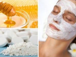 Маска для лица с аспирином и медом: свойства, особенности приготовления и нанесения
