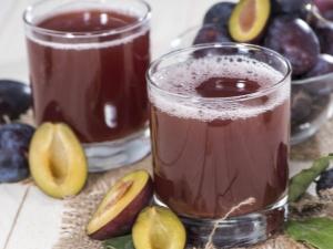 Сливовый сок: свойства продукта и рецепты приготовления