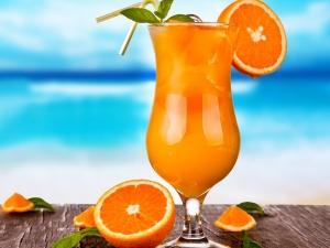 Как приготовить коктейль с апельсином?