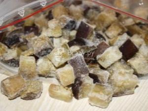 Как заморозить баклажаны на зиму?