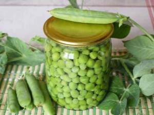 Консервирование зеленого горошка на зиму в домашних условиях