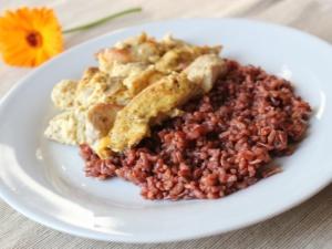 Как приготовить красный рис?