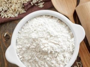 Как сделать рисовую муку в домашних условиях?