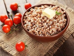 Калорийность гречки с маслом