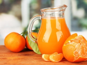 Мандариновый сок: свойства, польза и вред