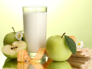 Кефир и яблоки: насколько совместимы и как принимать для похудения?