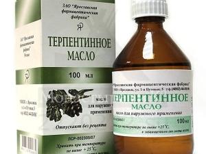 Терпентиновое масло: особенности и инструкция по применению