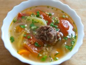 первые блюда из свинины рецепты простые