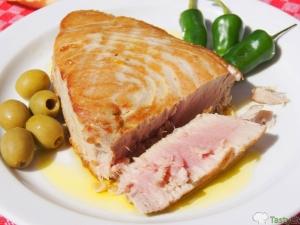 Готовим блюда из свежемороженного тунца