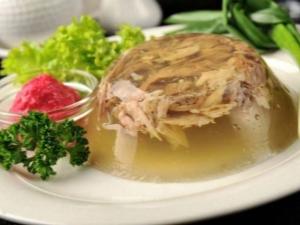 Холодец из индейки: калорийность и тонкости приготовления
