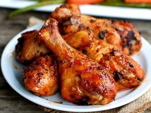Как замариновать куриные ножки в духовке?