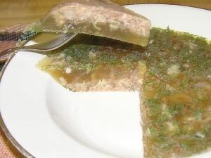 Рецепты приготовления холодца из куриных ножек