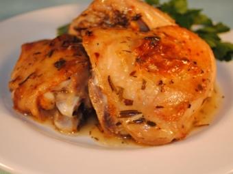 Курица с эстрагоном