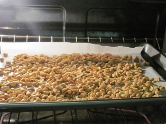 Сушка арахиса в духовом шкафу