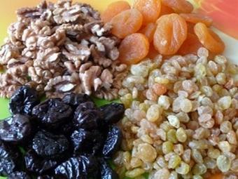 Смеси с грецкими орешками для укрепления организма