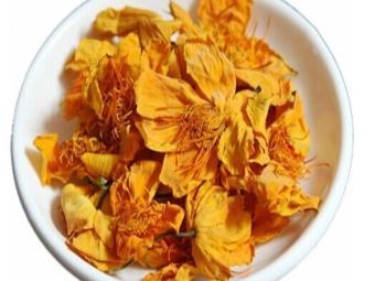 Чай с цветками настурции