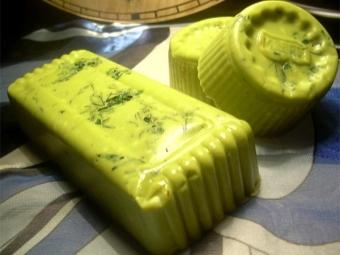 Мыло с укропом