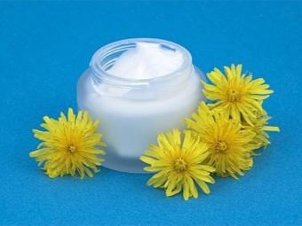 Крем с экстрактом цветов одуванчика
