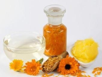 Полезные свойства масла календулы
