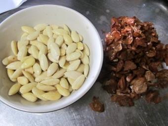 Рецепт миндальной пасты
