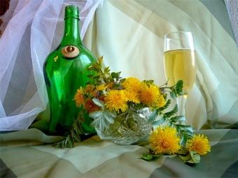 Настойка одуванчиков на спирту