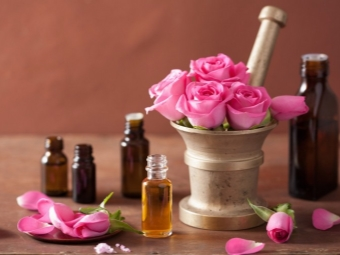 Розовое масло в ароматерапии