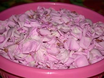 Сырье для варенья из роз
