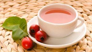 Польза и вред чая с шиповником